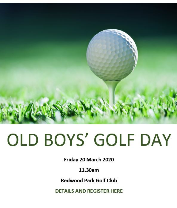Old Boys' Golf Day