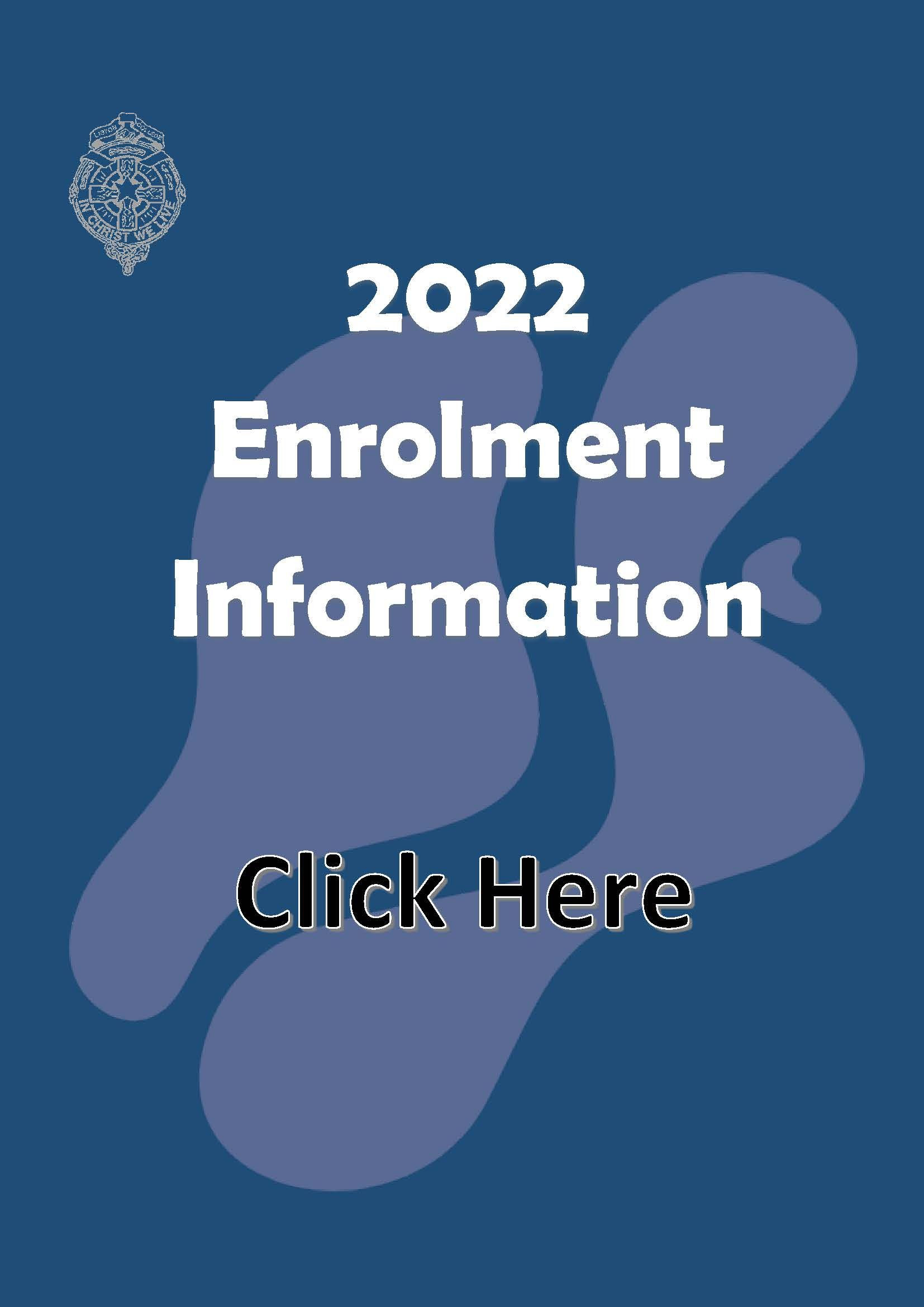 2022 Enrolment Information