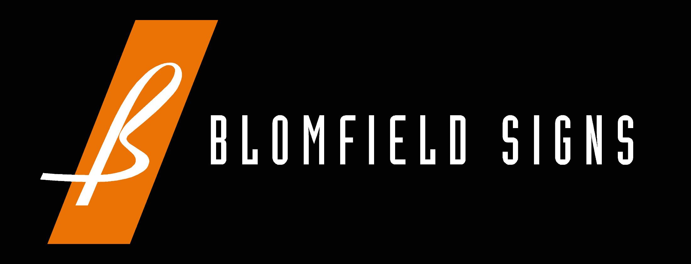 Blomfield Signs Logo