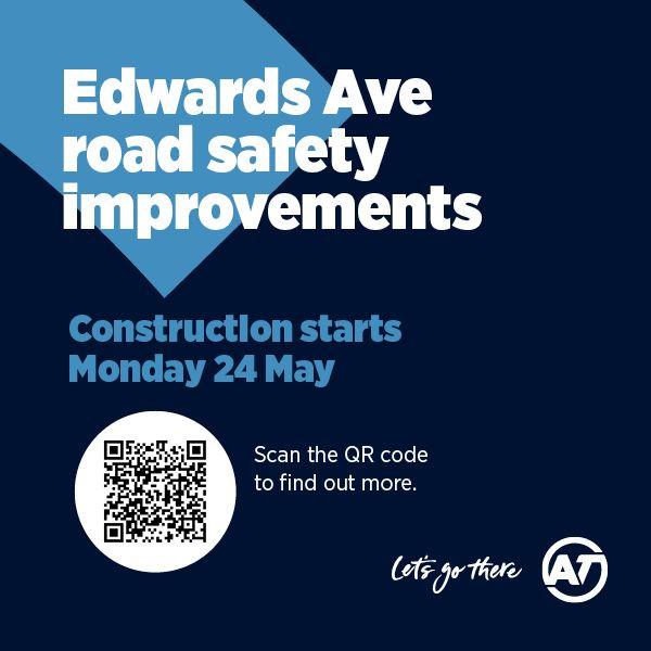 Edwards Ave Road Works