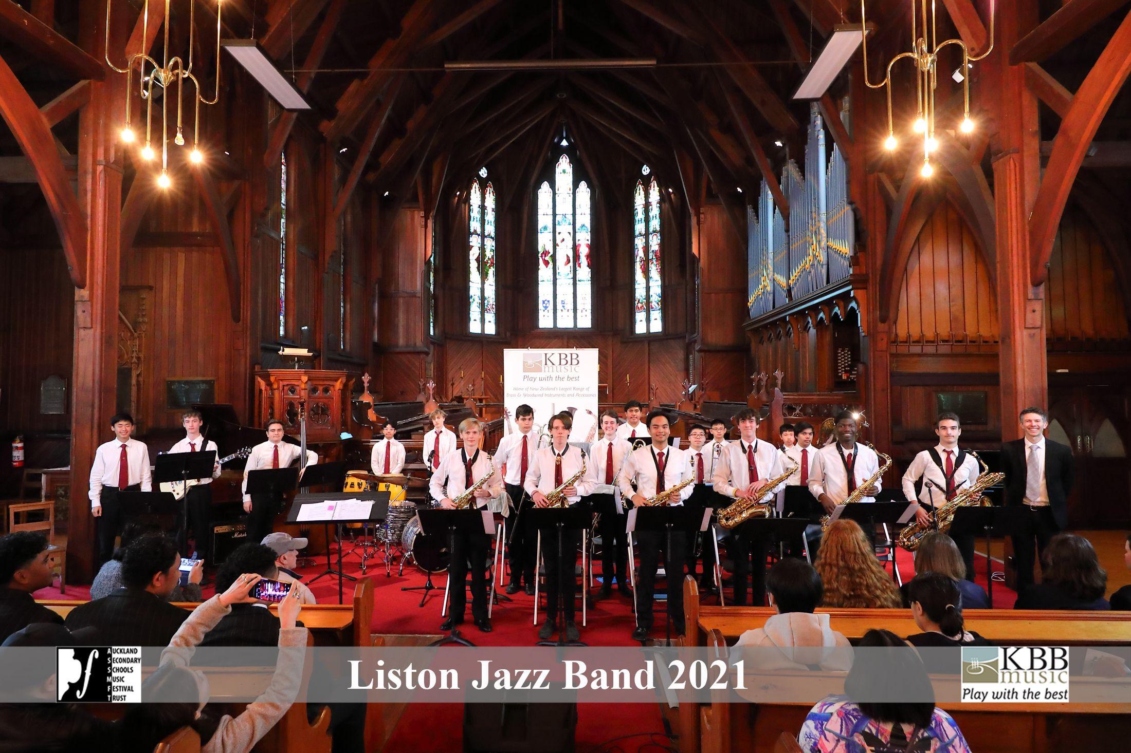 Liston Jazz Band Banner